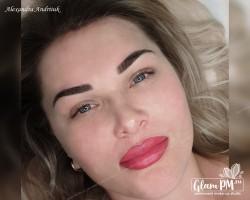 Александра брови и губы