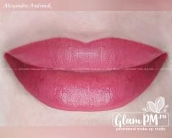 Александра губы